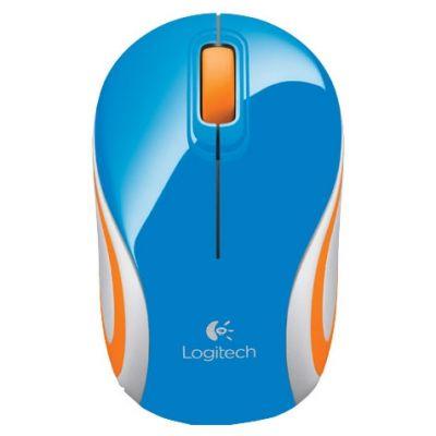 Мышь беспроводная Logitech Wireless Mouse M187 Blue 910-002738