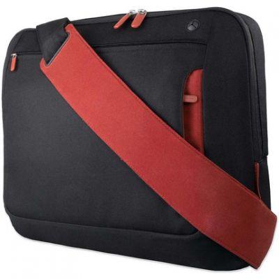 """Сумка Belkin 17"""" Messenger Bag, Jet/Cabernet F8N051eaBR"""