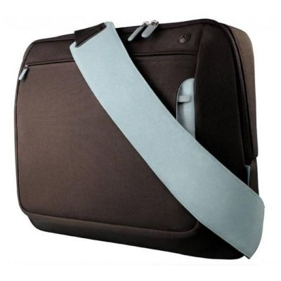 "Сумка Belkin 17"" Messenger Bag, Chocolate/Tourmaline F8N051eaRL"