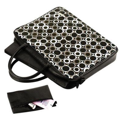 "Сумка Targus CityLite Retro Notebook Case 14,1"" Black & White TLT012EU"