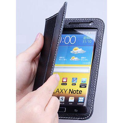 Чехол Yoobao Executive Leather Case for Galaxy Note i9220 и n7000 (Black)