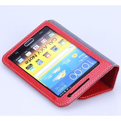 Чехол Yoobao Executive Leather Case for Galaxy Note i9220 и n7000 (Red)