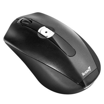 Мышь беспроводная Icon7 D500 Black