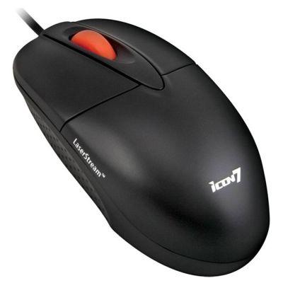 Мышь проводная Icon7 D100 Black