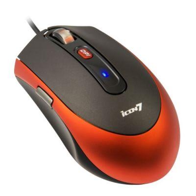 Мышь проводная Icon7 Z300 Black