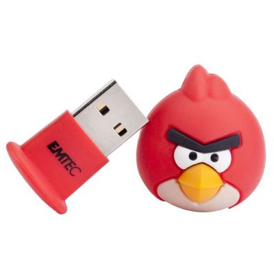 ������ Emtec 8Gb Angry Birds Red Bird EKMMD8GA100