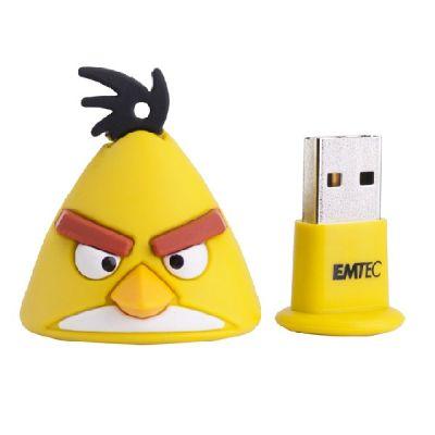 Флешка Emtec 8Gb Angry Birds Yellow Bird EKMMD8GA102