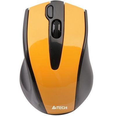 Мышь беспроводная A4Tech V-Track Wireless G9 USB Yellow G9-500F-2