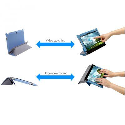 Чехол ASUS для EeePad Transleeve Dual TF201, TF300, TF700 Grey 90-XB2UOKSL000D0-
