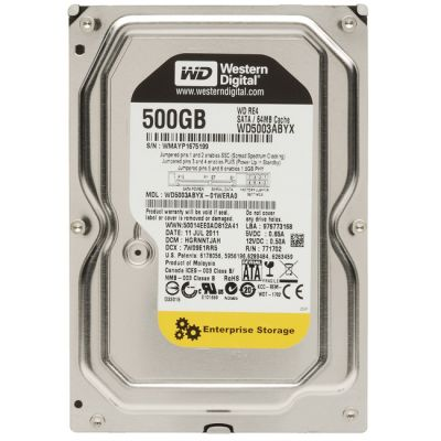 Жесткий диск Western Digital SATA-II 500Gb Raid Edition WD5003ABYX