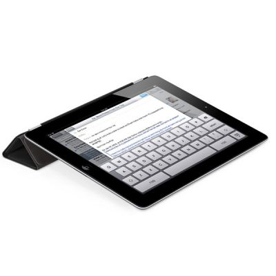 Чехол Apple iPad Smart Cover Leather (Black) MD301ZM/A