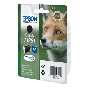 Картридж Epson T1281 Black/Черный (C13T12814011)