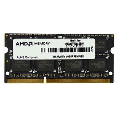 ����������� ������ Patriot AMD Entertainment Edition sodimm 4GB 1333MHZ CL9 AE34G1339S2-U