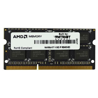 Оперативная память Patriot AMD Entertainment Edition sodimm 2GB 1600MHZ CL11 AE32G1601S1-U