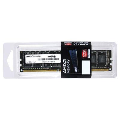 Оперативная память Patriot AMD Entertainment Edition dimm 2GB 1600 DDR3 256x8 CL9 AE32G1609U1-U