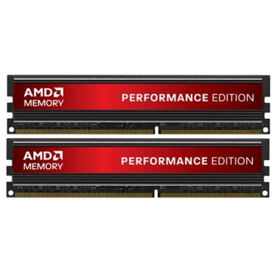 Оперативная память Patriot AMD Entertainment Edition dimm 4GB 1600MHZ CL8 kit AP34G1608U1K