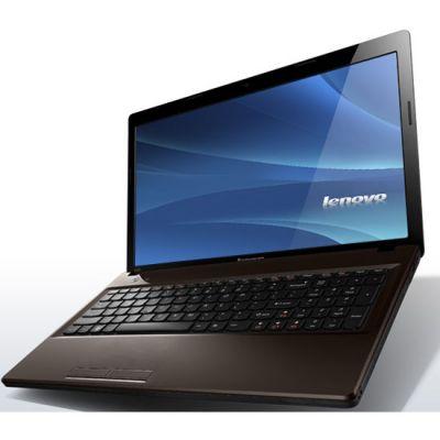 Ноутбук Lenovo IdeaPad G580G Brown 59337073 (59-337073)