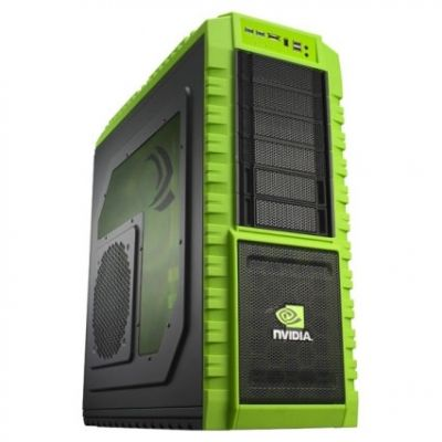 Корпус Cooler Master haf X nvidia edition (NV-942) Black/green NV-942-KKN1