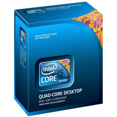 Процессор Intel Socket 1155 Core i5-2500 (3.30GHz/6Mb) box BX80623I52500