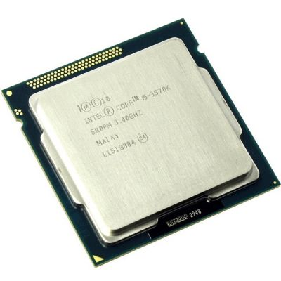 Процессор Intel Core i5-3570K 3.4 GHz / 4core / SVGA HD Graphics 4000 / 1+6Mb / 77W / 5 GT / s LGA1155 OEM CM8063701211800SR0PM