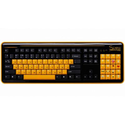 Клавиатура CBR S8 Black USB