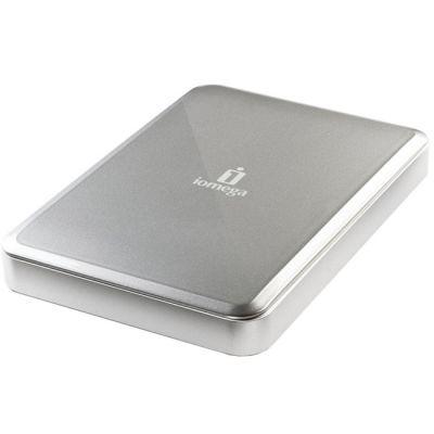 """Внешний жесткий диск Iomega USB 3.0 500Gb eGo 2.5"""" серебристый 35931"""