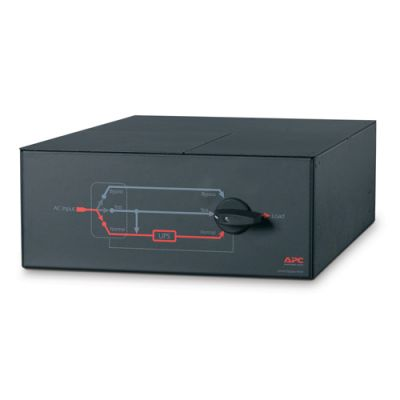 Аксессуар APC Service Bypass Panel- 230V; 100A; mbb; Hardwire input; (3) 30A Hardwire Output SBP16KRMI4U