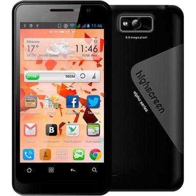 Смартфон, Highscreen Alpha gt