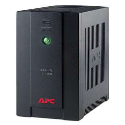 ИБП APC Back-UPS rs, 1100VA/660W with AVR, Schuko Outlets for Russia, 230V BX1100CI-RS