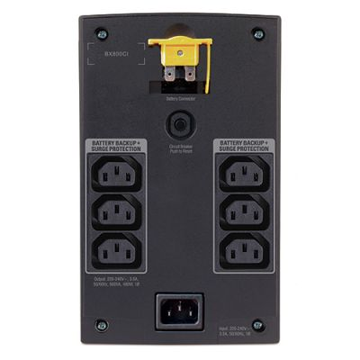 ИБП APC Back-UPS 800VA/480W with AVR, 230V BX800CI