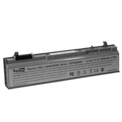 Аккумулятор TopON для dell Latitude E6400 atg E6400 E6410 xfr E6500 E6510 Precision M2400 M4400 4400mAh TOP-E6400
