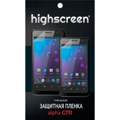 Защитная пленка Highscreen для Alpha gtr - глянцевая