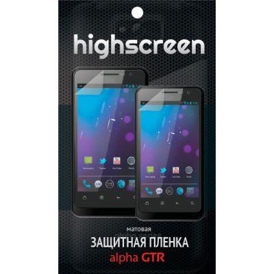 Защитная пленка Highscreen для Alpha gtr - матовая