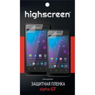Защитная пленка Highscreen для Alpha gt - глянцевая