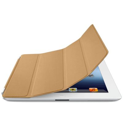 Чехол Apple iPad Smart Cover Leather (Tan) MD302ZM/A