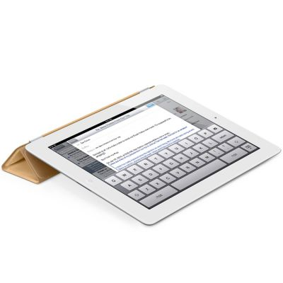 ����� Apple iPad Smart Cover Leather (Tan) MD302ZM/A