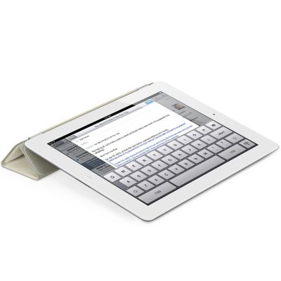 Чехол Apple iPad Smart Cover Leather (Cream) MD305ZM/A