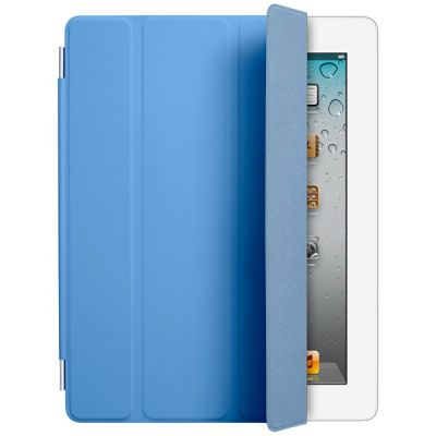 Чехол Apple iPad Smart Cover Polyurethane (Blue) MD310ZM/A
