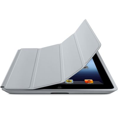 ����� Apple iPad Smart Case Polyurethane (Light Gray) MD455ZM/A