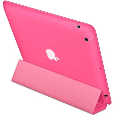 Чехол Apple iPad Smart Case Polyurethane (Pink) MD456ZM/A