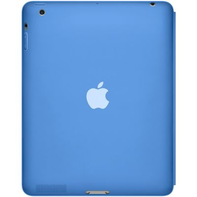 Чехол Apple iPad Smart Case Polyurethane (Blue) MD458ZM/A