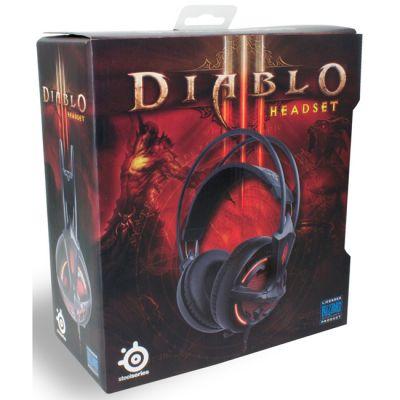 Наушники с микрофоном SteelSeries Diablo III (57002)
