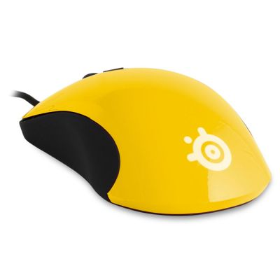 Мышь SteelSeries kinzu v2 Yellow Optical (62023)