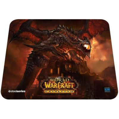 ������ ��� ���� SteelSeries QcK WoW Cataclysm Deathwing Edition (67208)
