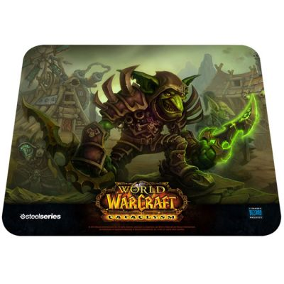 ������ ��� ���� SteelSeries QcK WoW Goblin Edition (67209)