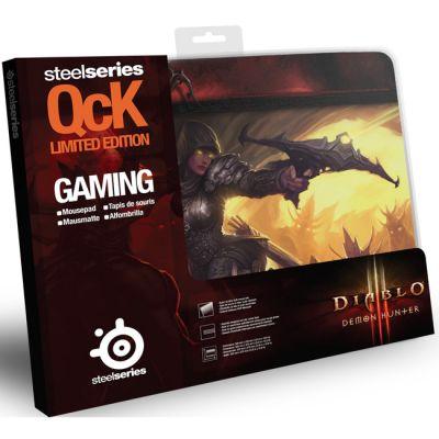 Коврик для мыши SteelSeries QcK Diablo III Demon Hunter Edition (67227)
