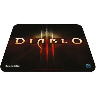 Коврик для мыши SteelSeries QcK Diablo III Logo Edition (67229)