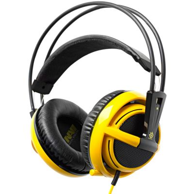 Наушники с микрофоном SteelSeries Siberia v2 full-size headset navi edition (51111)