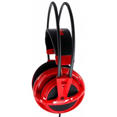 �������� � ���������� SteelSeries Siberia v2 full-size headset Red (51104)