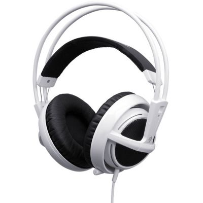 Наушники с микрофоном SteelSeries Siberia v2 full-size headset для iPod, iPhone, iPad (51108)